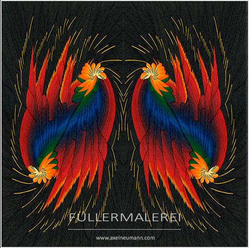bunte Ableitung - Phoenix Erwachen - Axel Neumann