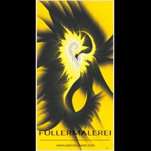 gelbes Füllergemälde Axel Neumann