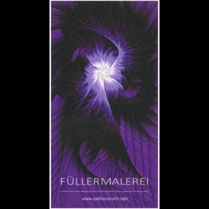 violettes Füllergemälde Axel Neumann
