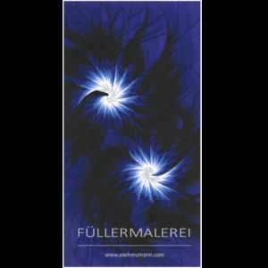 ultramarines Füllergemälde Axel Neumann